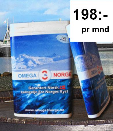 omega 3 norge